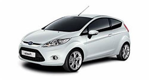 CAR RENTAL FORD FIESTA
