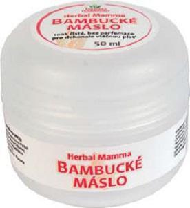 BAMBUCKÉ MÁSLO 100% čisté, bez parfemace - 50ml