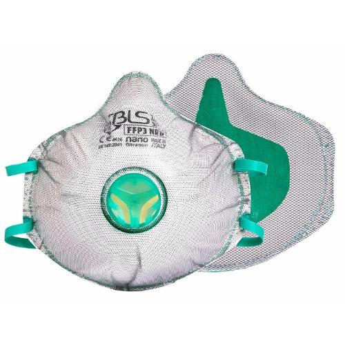 BLS Zero 31, FFP3 R D filtermaske med udåndings ventil