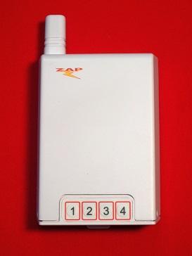 4CH Receiver 433.92 MHz FM