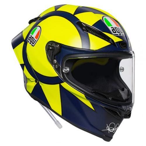 Pista GP R casco integrale E2205 top plk soleluna 2018 AGV