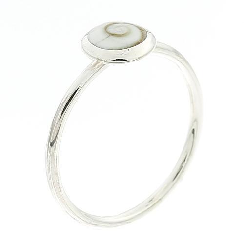 Кольцо из серебра 925 и шива глаз оболочки