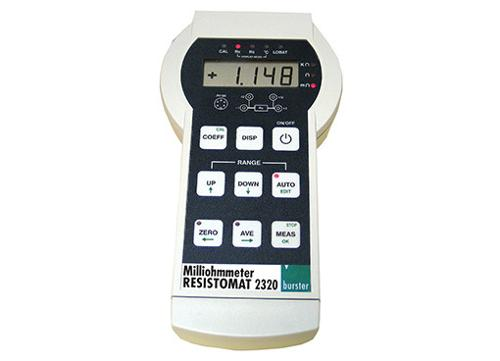 Battery-operated milliohmmeter - RESISTOMAT® 2320