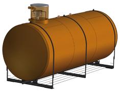 Réservoirs de récupération d'eau de pluie