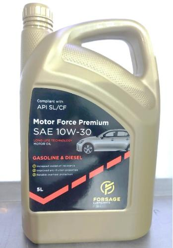 Advanced universal semisynthetic engine oils