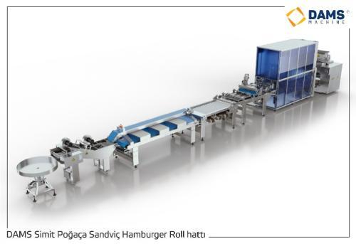 Ligne de Production Hamburger Sandwich Baguette