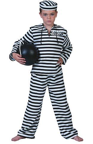 Costume enfant prisonnier