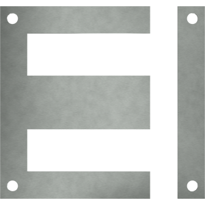 Lamierini monofase Serie EI con I ribassata