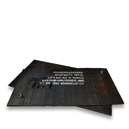 Stahl Lastverteilungsplatten Set
