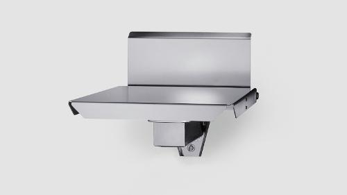 Wall mounted scale with folding table iL Special 150T/SP