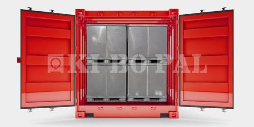 Palettenbox BigBox Cargo Box 1x gebraucht
