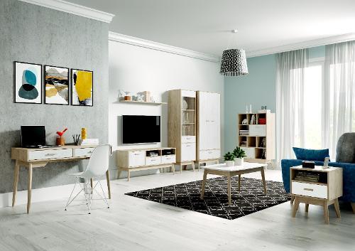Calgary Living Room Modular Wall