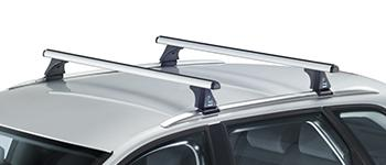 Barres de toit Cruz railing intégré en aluminium