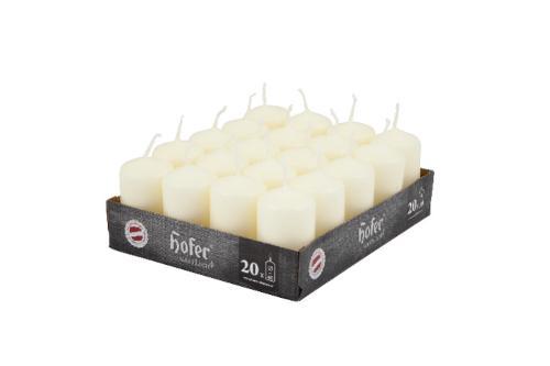 Hofer ovalne sveče