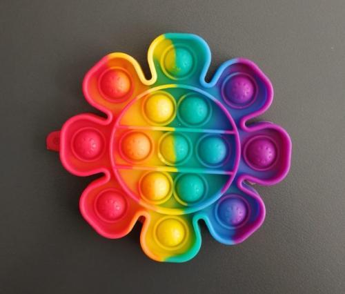 Silicone Push Pop Bubble Fidget Toy