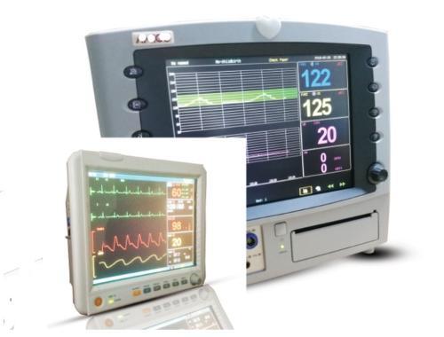 monitor fetal y monitor paciente