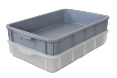 Caixas de plástico  empilháveis