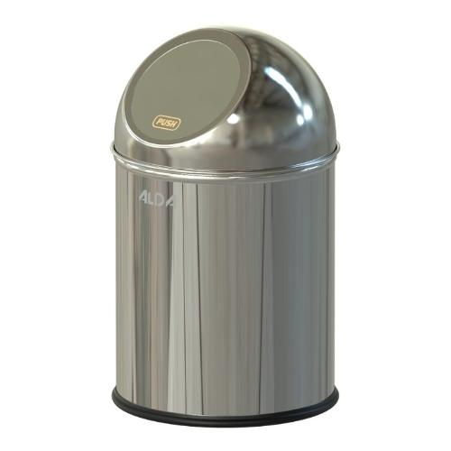 BIN WITH FLAP CLEAN WORD