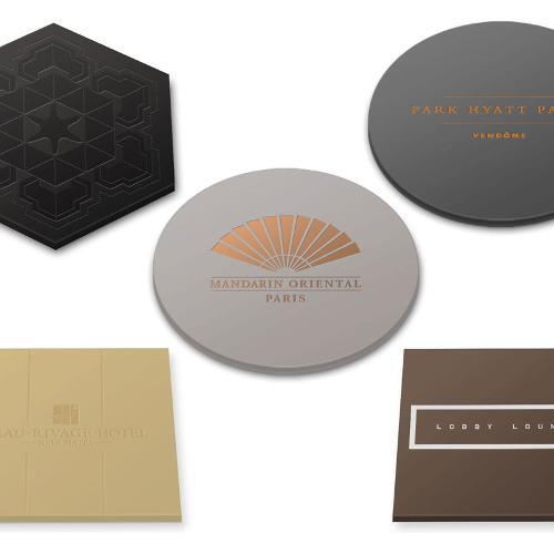 sous-verre silicone personnalisés