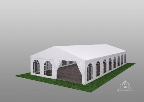 Двускатный шатер 10x20