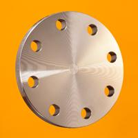 DIN 2527 blind flange, reduced thickness grade 1.4301
