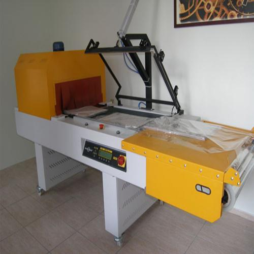 L sealer with  heat tunnel shrink packaging machine
