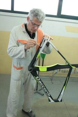 Verniciatura e riparazione bici corsa e mtb