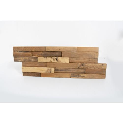 teak plakhout houten panelen rustiek