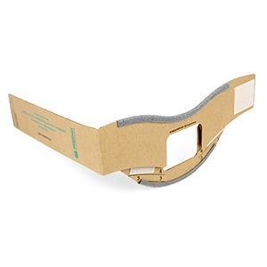 Disposable folding splint (cardboard)