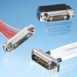 Rectangular Micro-D connectors D-Line®
