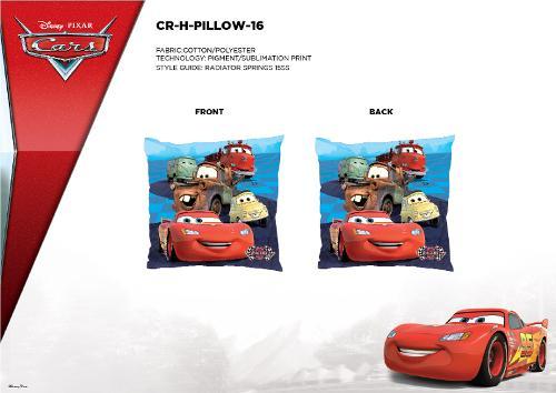 COUSSINS 35X35 CM - CARS