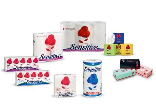 Carta Igienica, pannocarta, fazzoletti Sensitive Ladies