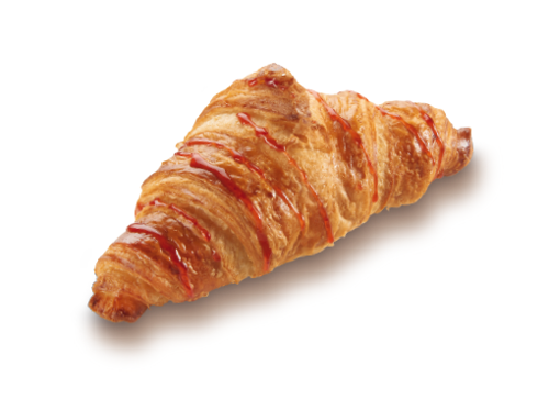 Croissant Royal with Strawberry Filling