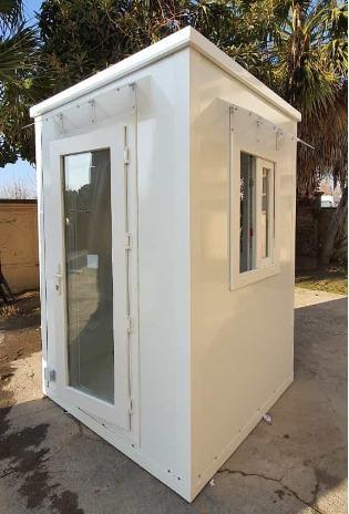 fiberglas kiosk / kabin