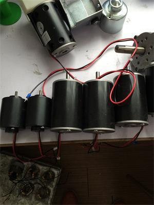 3 size type dc brush motor