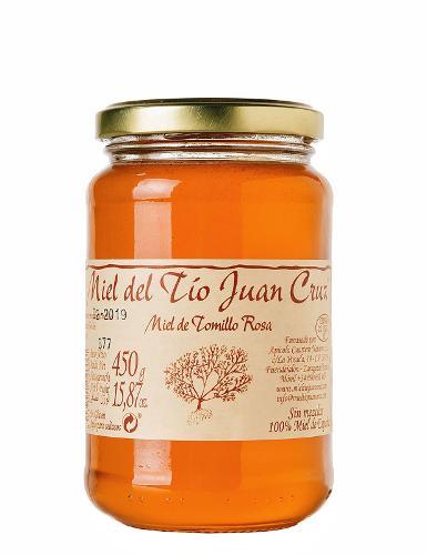 Pink thyme honey
