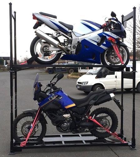 Motorradgestelle höhenverstellbar