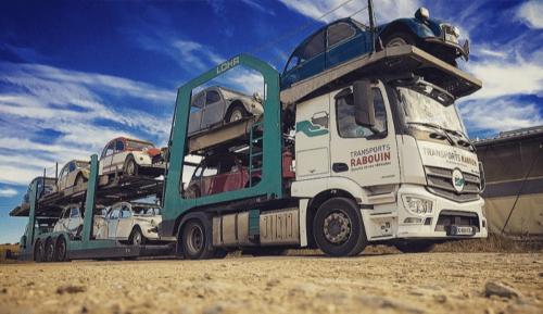 Transport véhicule de collection et de prestige