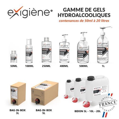 Gel hydroalcoolique - Gamme complète