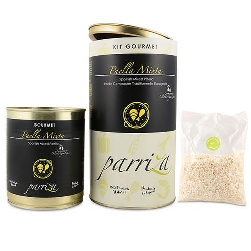 Kit Gourmet Paella Mixta