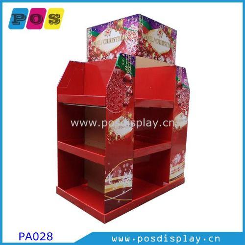 Half pallet paperboard display stand PA028