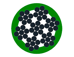 6x7+WSC plastificato