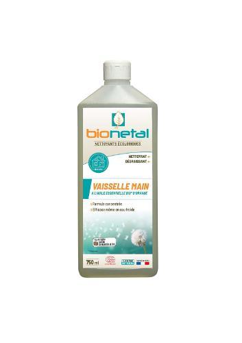 Liquide vaisselle Manuelle- A base de véritable savon de Marseille bio