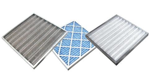 Préfiltration - Filtres en fibre de verre