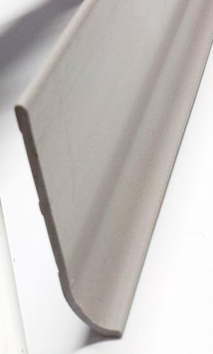 Battiscopa in pvc semiflessibile h. 7cm con Sguscia Grigio