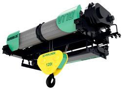 Palan électrique à câble pour charge de 10 000 à 250 000 kg