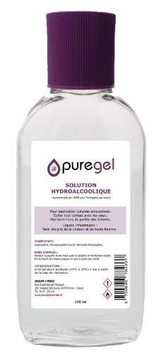 Solution hydroalcoolique 100ml