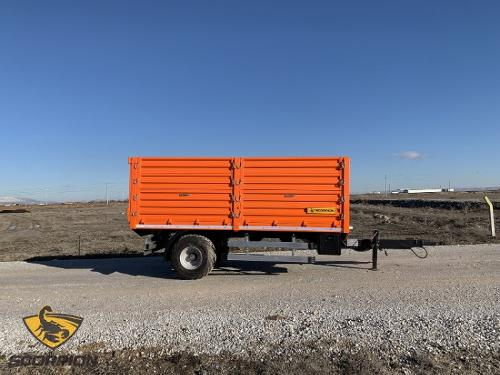 Single-axle Agricultural Trailer