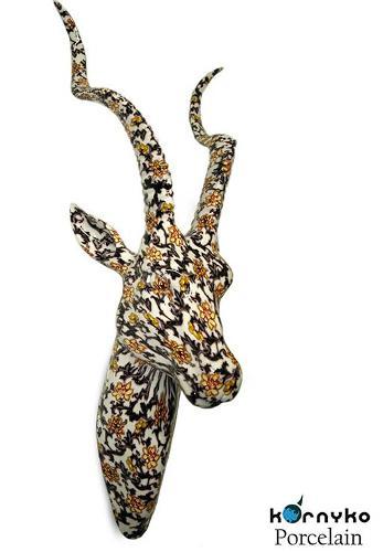 Cabeza gacela decoración