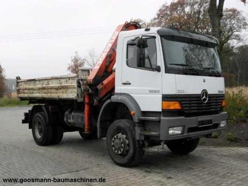 Nutzfahrzeuge / PKW - Mercedes-Benz 1823 Atego Allradkipper